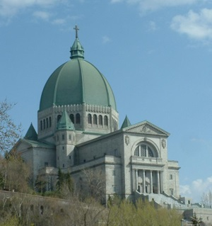 Saint Joseph's Oratory of Mount-Royal in Montreal, Canada